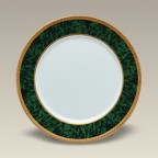 Malachite Salad Plate, 7.5""