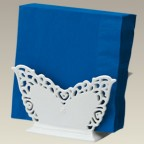 "Butterfly Napkin Holder, 6.5"", SELECTED SECONDS"