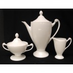 Large Empire Coffee Pot with Creamer & Sugar, SELECTED SECONDS
