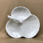 Three Section Leaf Shape Serving Dish, 10.5""