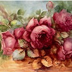 Red Roses by Sonie Ames