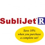 Sublijet R Cartridge Ricoh 7000 or 5050, Set of 4 Cartridges