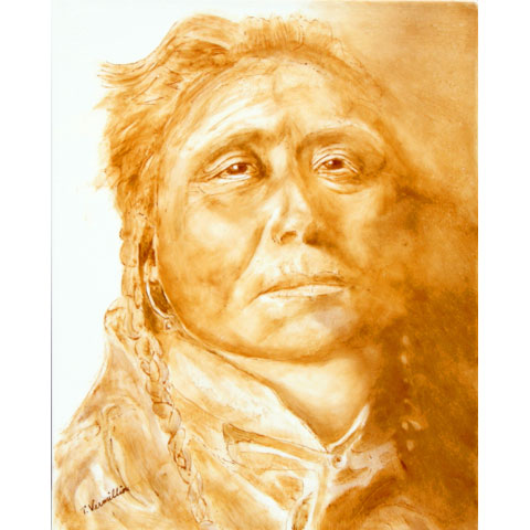 Native American on Tile