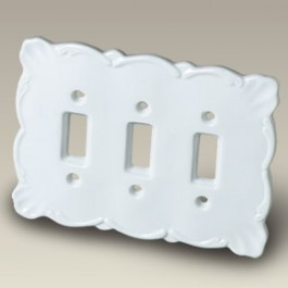 """7"""" x 5"""" Triple Switch Plate, SELECTED SECONDS"""