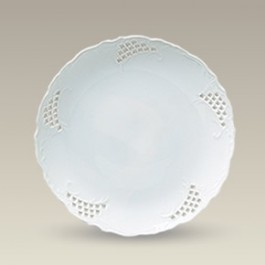 "8.25"" Openwork Plate, SELECTED SECONDS"