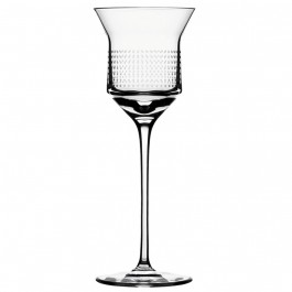 8.0 ounce BOMMA Dots Collection Crystal Red Wine Glass - Set of 2