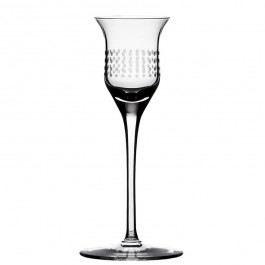1.35 ounce BOMMA Dots Collection Crystal Liqueur Glass - Set of 2