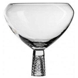17.7 Inch Diameter BOMMA Solid Collection Crystal Center Piece Bowl