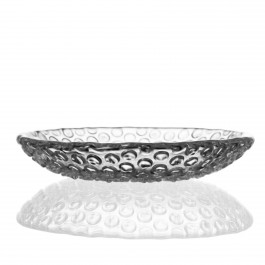 6 inch BOMMA Bubbles Collection Crystal Dessert Plate - Set of 2