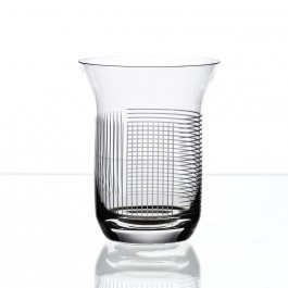 BOMMA Lines Collection Crystal 10oz Water Glass - Set of 2