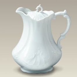 Scrolled Chocolate Pot