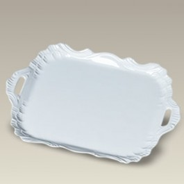 """14"""" Rectangular Handled Tray, SELECTED SECONDS"""