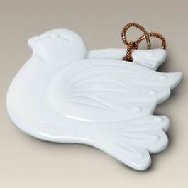 "3.5"" Dove Ornament"