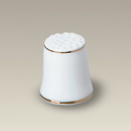 """1"""" Thimble with Double Gold Bands"""