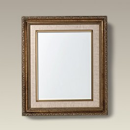 """Gold and Linen Frame with 10"""" x 8"""" Tile"""