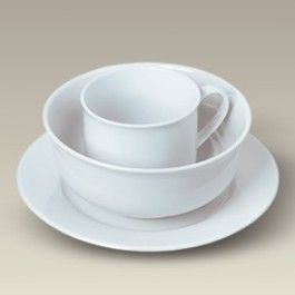 Child's Cup, Plate and Bowl Set, SELECTED SECONDS