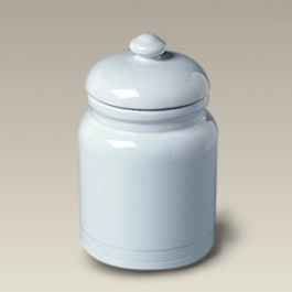 "9"" Ceramic Cookie Jar, SELECTED SECONDS"