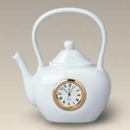 "5"" Teapot Shaped Clock, SELECTED SECONDS"