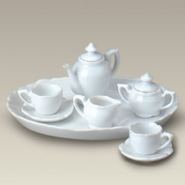 10 Piece Miniature Tea Set