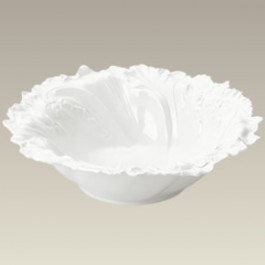 "Flower Shaped Serving Bowl, 12"" x 3.5"""
