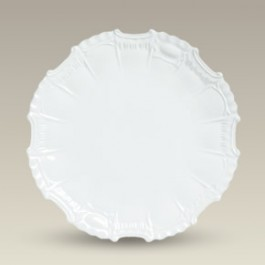 "10.25"" Fancy Antique Scrolled Plate"