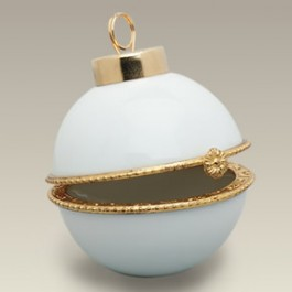 "2.375"" Hinged Ball Ornament"