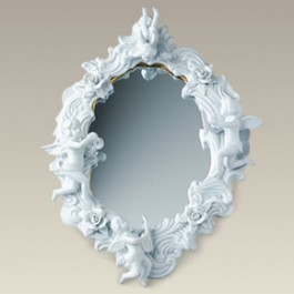 """16"""" x 12.5"""" Angels and Roses Mirror"""