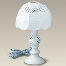 "11.5"" Openwork Lamp with Openwork Shade"