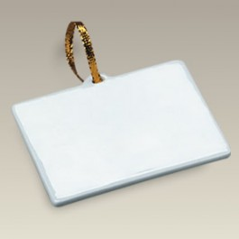 "3.25"" Rectangle Ornament"