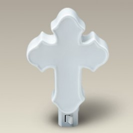 "4"" Cross Shaped Night Light"