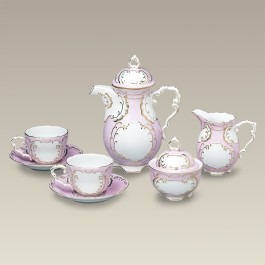 Pink and Gold Tea Set, SELECTED SECONDS