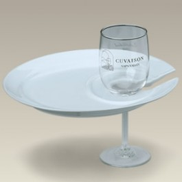 """9.5"""" Wine and Dine Plate, SELECTED SECONDS"""