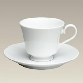 8 oz. Flared Pedestal Cup and Saucer