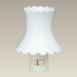 Scalloped Shape Night Light, 4.25""