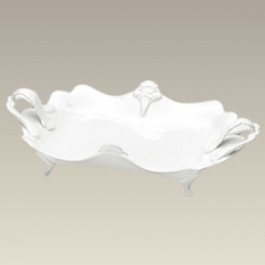 """Footed Serving Tray, 12.5"""" x 7.5"""", SELECTED SECONDS"""