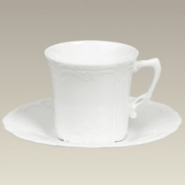 Baroness Scrolled Cup & Saucer, 6 oz.