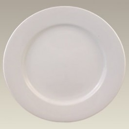 "12"" Rim Shaped Charger Plate, SELECTED SECONDS"