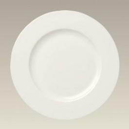 "8.625"" Cream Colored Salad Plate, SELECTED SECONDS"