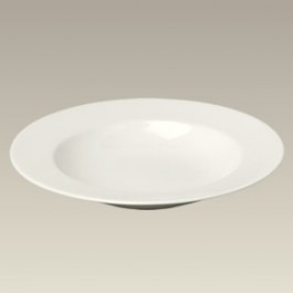 """9"""" Cream Colored Soup Bowl, SELECTED SECONDS"""