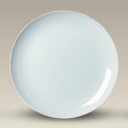 "12"" Porcelain Coupe Plate, SELECTED SECONDS"