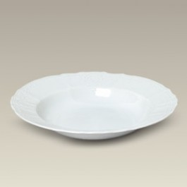 "9.25"" Chinese Bernadotte Soup Bowl, SELECTED SECONDS"
