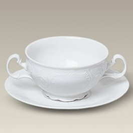 12 oz. Bernadotte Cream Soup and Saucer, SELECTED SECONDS