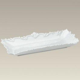 "Embossed Celery Tray, 13"" x 5.875"", SELECTED SECONDS"