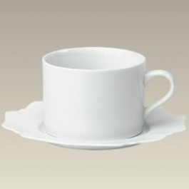 8 oz. Scalloped Cup & Saucer, SELECTED SECONDS