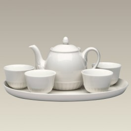 Teapot with Infuser, 4 Cups & Tray, SELECTED SECONDS