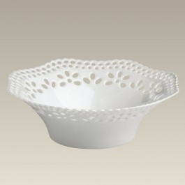Scalloped Openwork Candy Dish, 6""