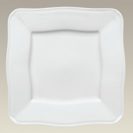"""12.5"""" Square Plate with Scrolled Edge, SELECTED SECONDS"""