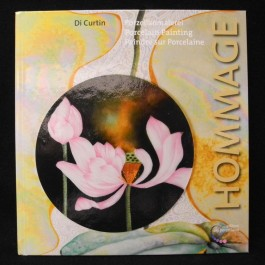 Porcelain Painting - Hommage by Di Curtin