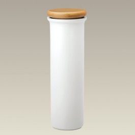 Spaghetti Canister with Wood Lid, 11.75""