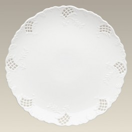 """12"""" Openwork Charger Plate, SELECTED SECONDS"""
